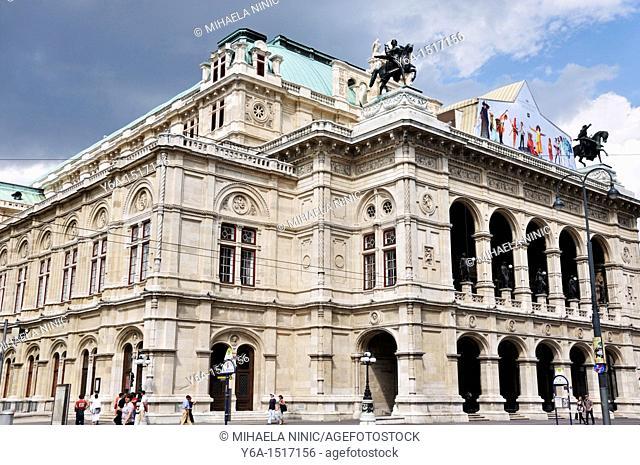 Vienna State Opera, Vienna, Austria, Europe