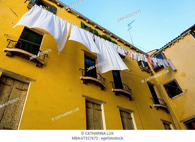 Venice, clothesline