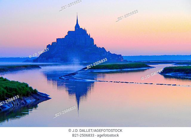 Mont Saint Michel, Manche, Normandy, France