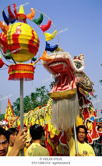 Asia, Celebrate, Celebrating, Celebration, China, Dragon, Festival, Holiday, Hong kong, Hongkong, Landmark, Outdoors, Tourism, T
