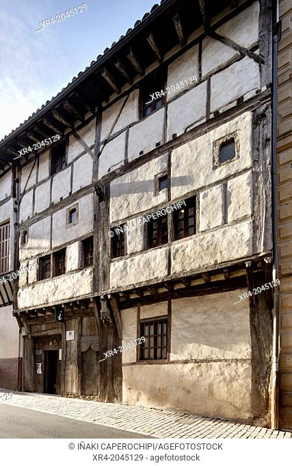 Ardixarra House, Interpretation Center of the Middle Ages, Segura, Goierri, Gipuzkoa, Basque Country, Spain
