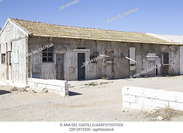 Ruined village in Almeria La Almadraba de Monteleva Andalusia, Spain