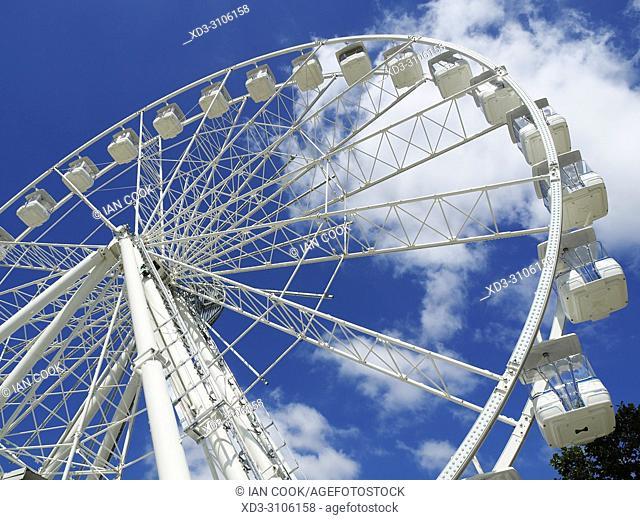 Ferris Wheel, Grande Roue, La Rochelle, Charente-Maritime Department, Nouvelle Aquitaine, France