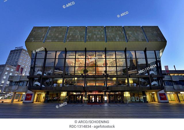 Gewandhaus, Augustplatz, Leipzig, Sachsen, Deutschland