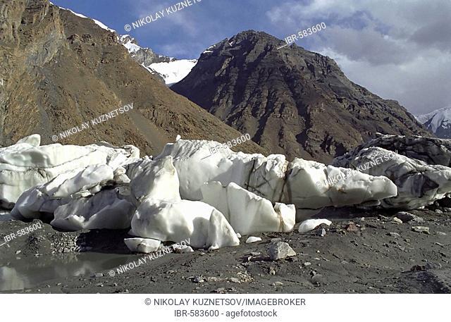 The mountain range Central Tien Shan, Kazakhstan