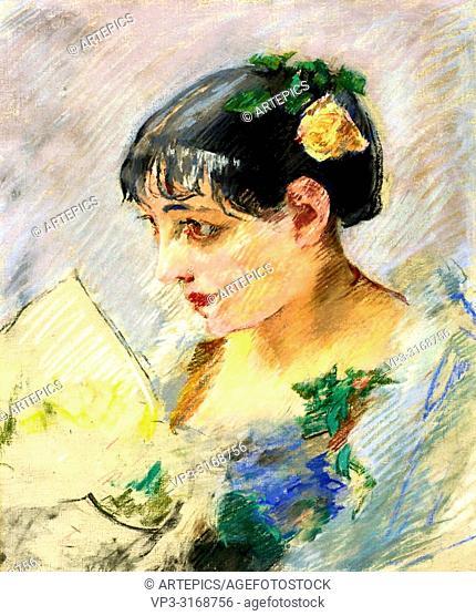Gonzales Eva - Spanish Woman (Portrait of the Milliner)