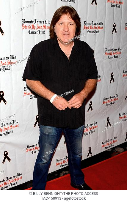 "Simon Wright arrives at the 3rd Annual """"Bowl 4 Ronnie"""" Celebrity Bowling Tournament, benefiting the """"Ronnie James Dio Stand Up and Shout Cancer Fund fund""""..."