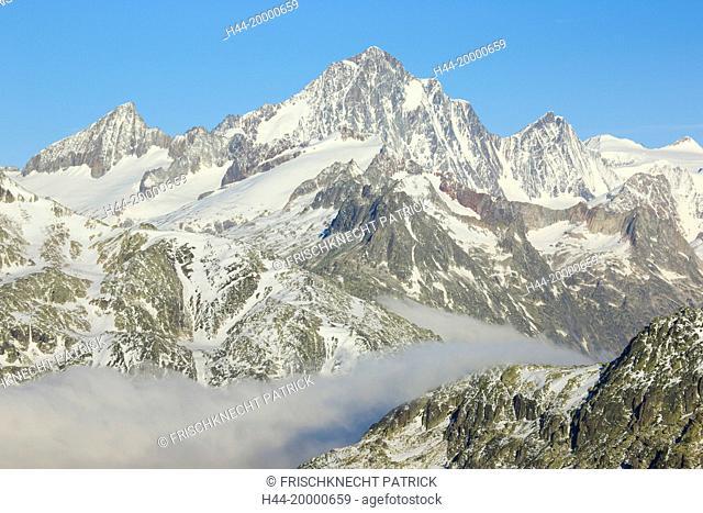 Finsteraarhorn - 4274 ms, Switzerland