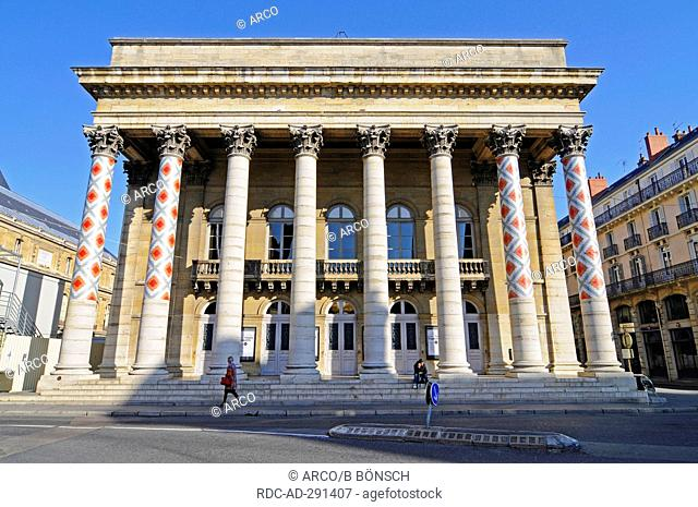 Theatre, Dijon, Departement Cote-d\'Or, Bourgogne, France / Burgundy