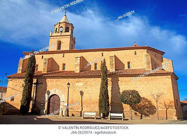 Church Bello. Gallocanta Wildlife Reserve. Aragón