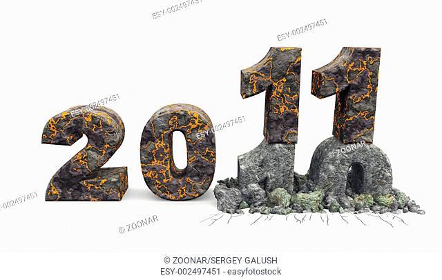 3D an inscription 2011