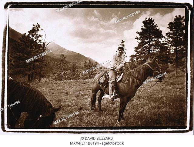 Horseback riding, Ruddock Ranch