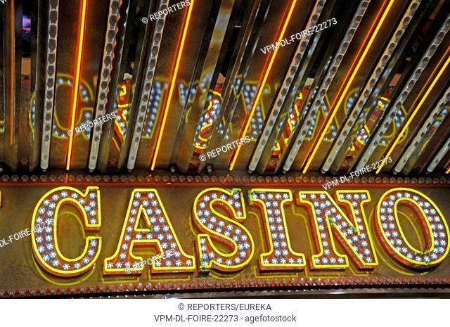 Casino game, Belgium,Brussels funfair; Reporters / EUREKA