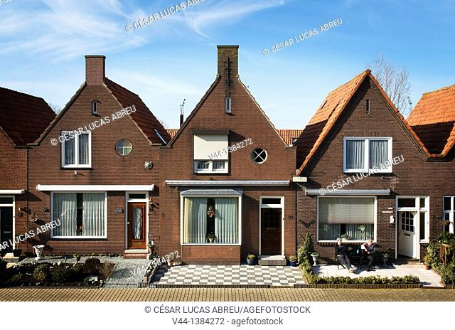 Zuideinde street, Volendam, Netherlands