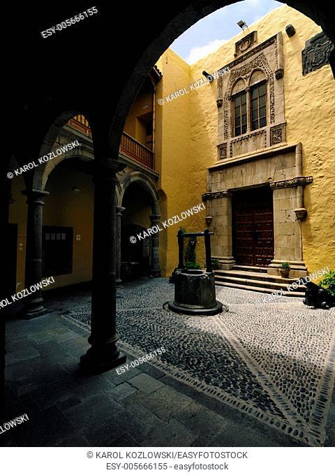 Columbus House(Casa de Colon) in Las Palmas of Gran Canaria, Canary Islands, Spain