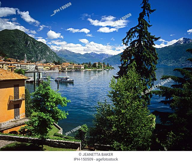 Picturesque view of Menaggio on Lake Como