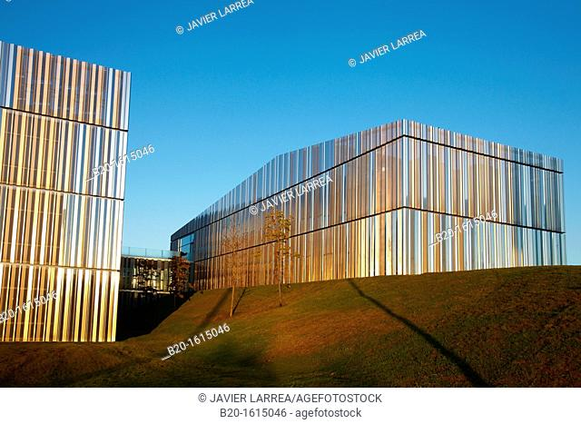 Building, Cic Energigune, Energy Cooperative Research Center, Miñano, Alava Technology Park, Basque Country, Spain