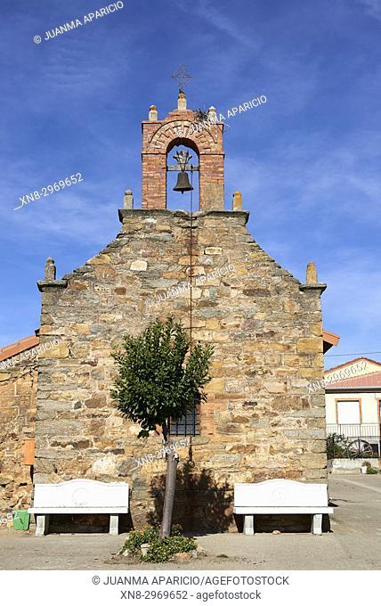 Villalverde Church, Province of Zamora, Castilla y Leon, Spain, Europe