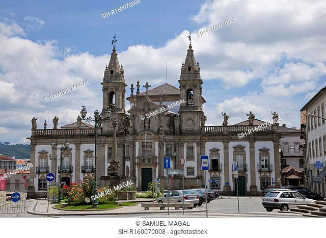 Sao Marcos Hospital Church was built in the 15th century and restored in the 18th Century in the Baroque style. The church was designed by the Braga architect...