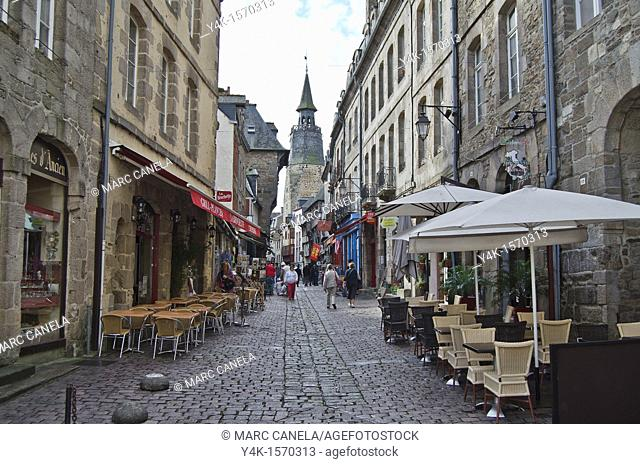 Europe, France,Bretagne Brittany Region, Dinan Village, Tourist zone