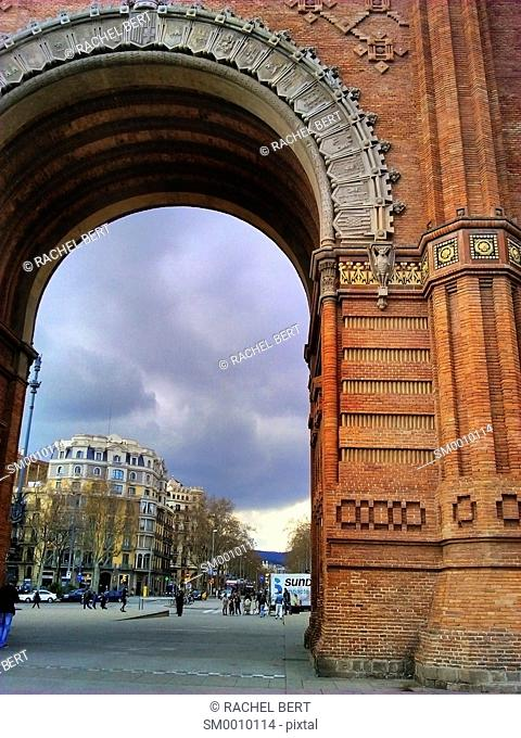 Arc de Triomf, Barcelona, Spain, Europe