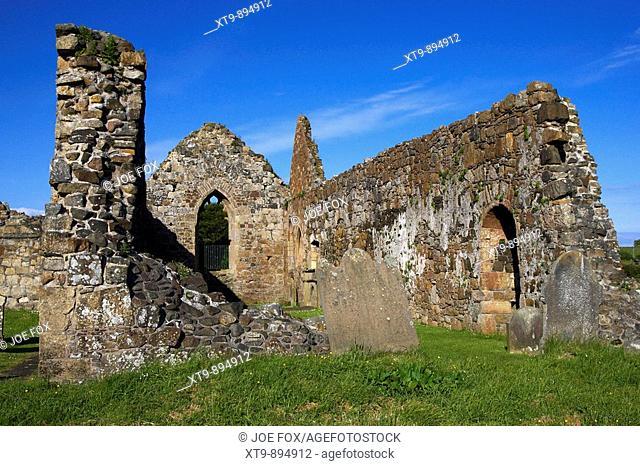 Bonamargy Friary on the outskirts of Ballycastle county antrim northern ireland uk europe