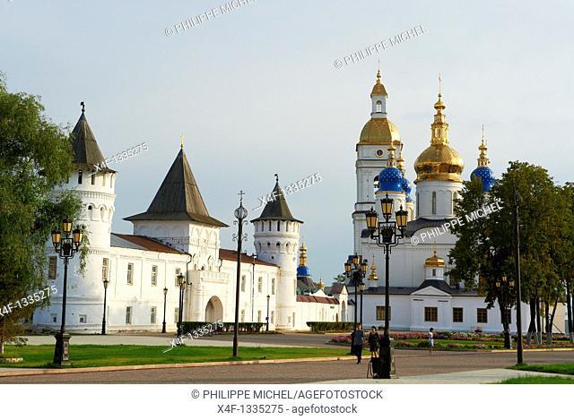 Russia, Siberia, Tyumen Oblast, Tobolsk, the Kremlin