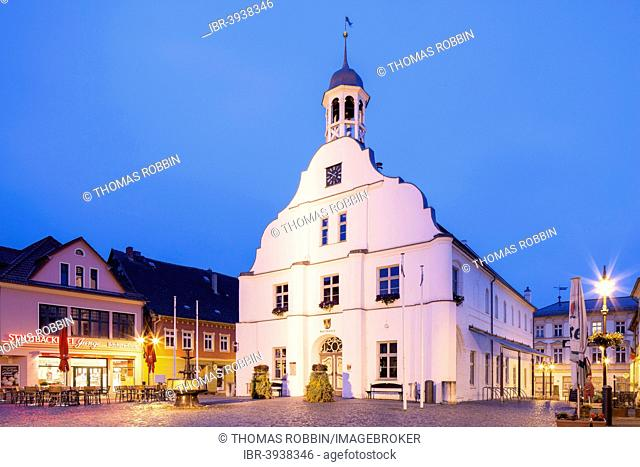 Old Town Hall, registry office and cultural office, Wolgast, Mecklenburg-Western Pomerania, Germany