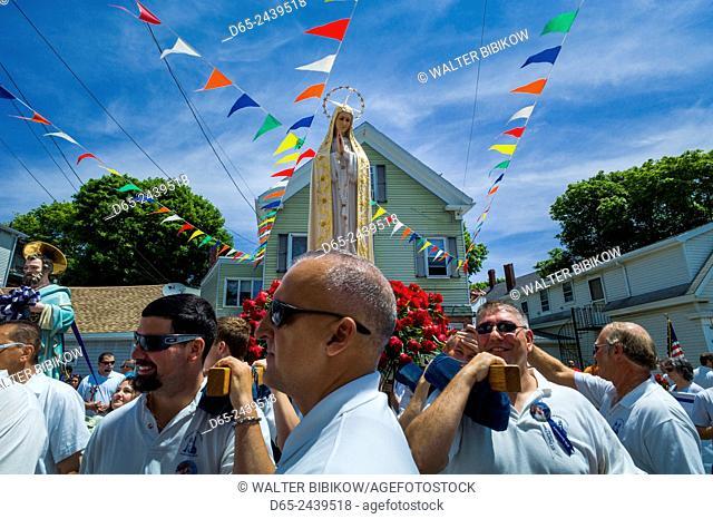 USA, Massachusetts, Cape Ann, Gloucester, Saint Peter's Fiesta, Festival to honor patron saint of fishermen, America's Oldest Seaport