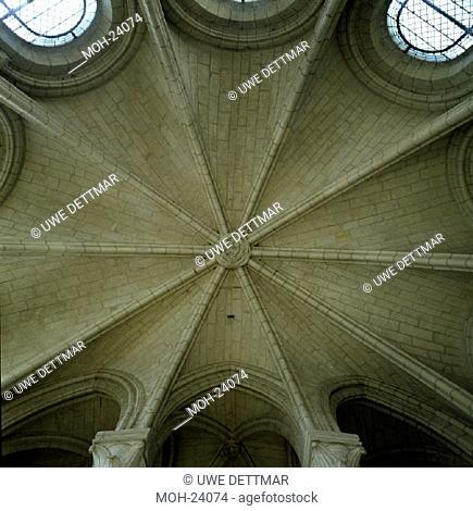 Soissons, Kathedrale/ Seitenkapelle, Gewölbe
