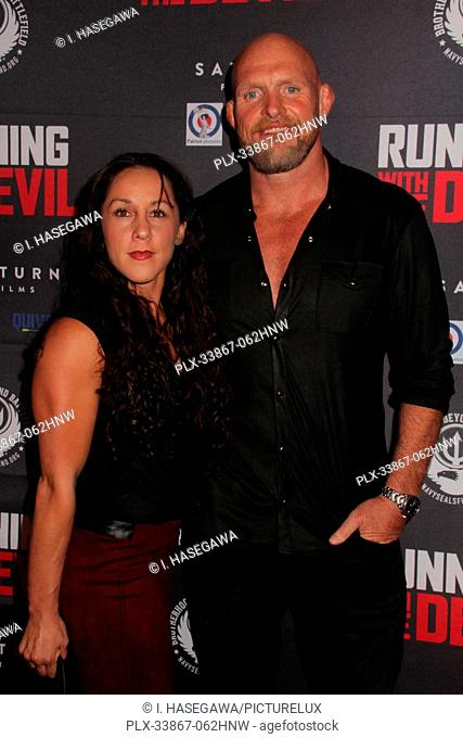 "Jodie Esquibel, Keith Jardine 09/16/2019 """"Running with the Devil"""" premiere held at Writers Guild Theater in Beverly Hills, CA Photo by I"