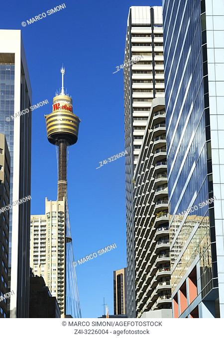 Centrepoint Tower, Sydney, New South Wales, Australia,