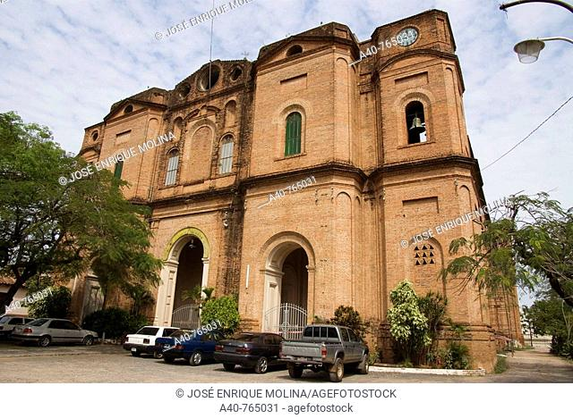 Paraguay.Asunción city. Church of Our Lady of the Incarnation