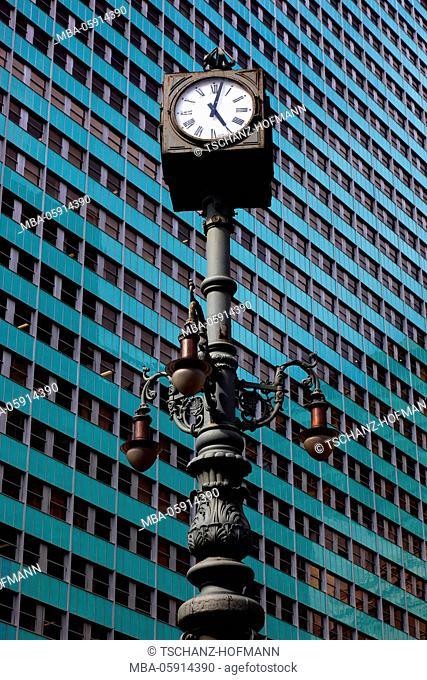 High rises in the centre of Rio de Janeiro, Brazil, here in the financial centre to Avenida Rio Branco