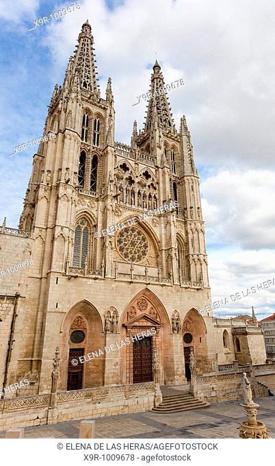 Saint Mary Cathedral. Burgos. Spain