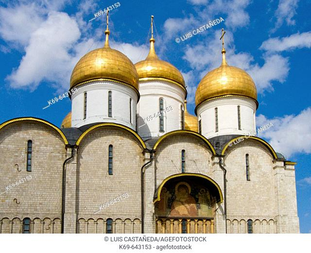 Assumption Cathedral. Kremlin, Moscow, Russia