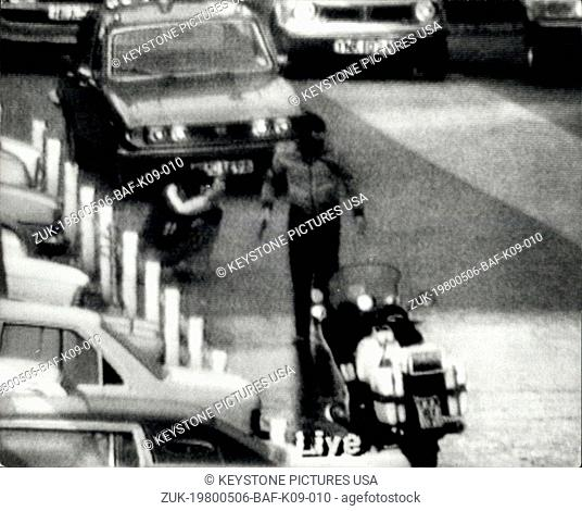 May 06, 1980 - SAS Squad Storm Iranian Embassy And Free Hostages: The six-day siege of the Iranian Embassy in London's Knights bridge ended last night in a...