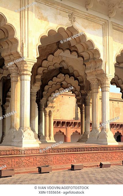 Red Fort, Diwan-I Am 1630-1640s, Agra, India