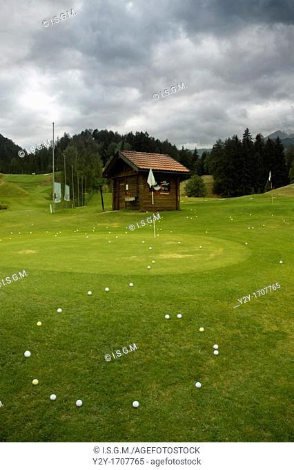 Golf query. Vulpera, Switzerland