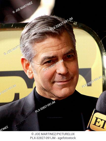 George Clooney at the World Premiere of Universal Pictures' Hail, Caesar! held at the Regency Village Theatre in Westwood, CA, February 1, 2016
