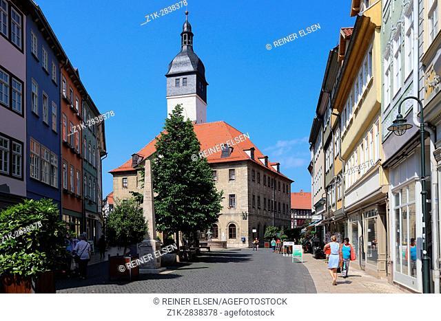 Thuringia Bad Langensalza Town hall