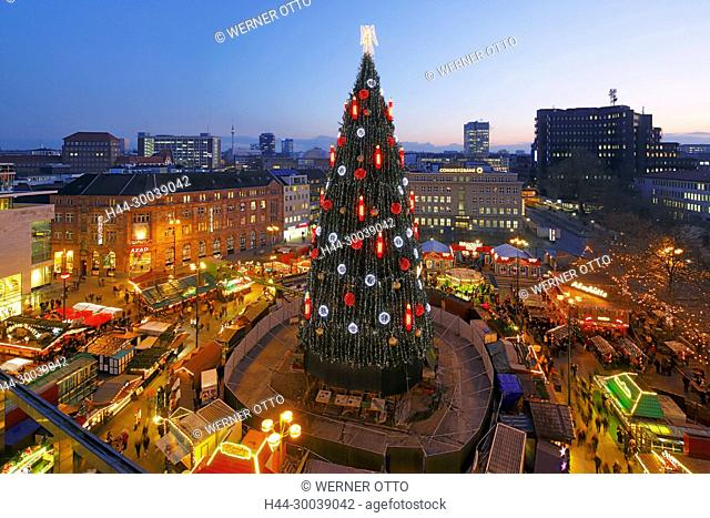 Blaue Weihnachtsbeleuchtung.Blaue Night Germany Stock Photos And Images Age Fotostock