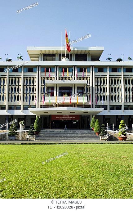 Ho Chi Minh City Reunification Palace Saigon Vietnam