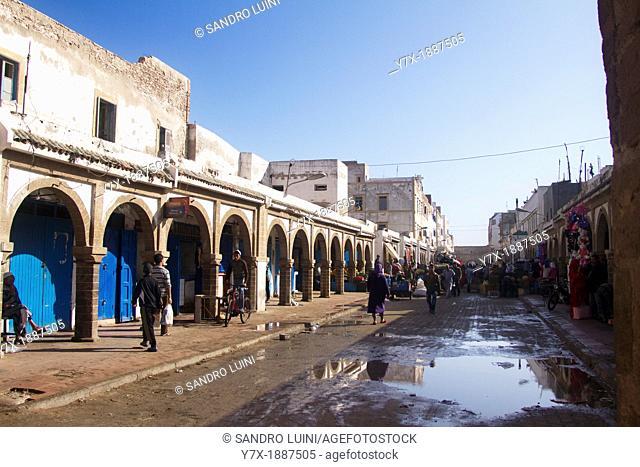 Essaouira, Mogador, Medina, Théodore Cornut, Street