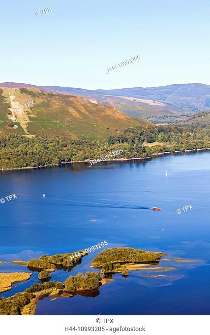 England, Cumbria, Lake District, Derwentwater