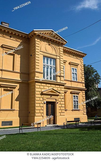 Gallery of Fine Arts, Osijek, Slavonia, Croatia