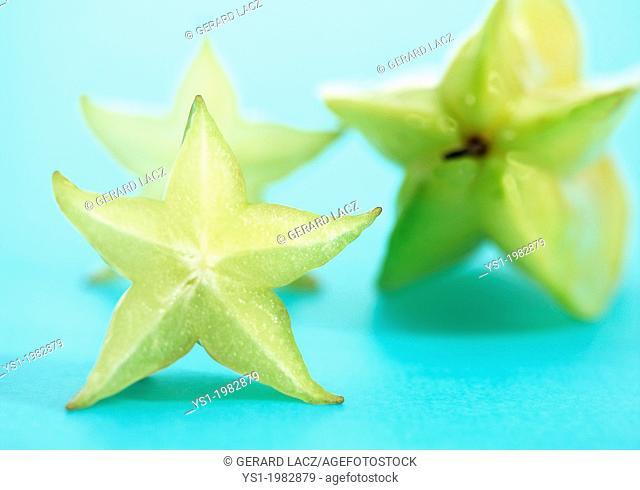 Carambola Star Fruit, averrhoa carambola, Exotic Fruit