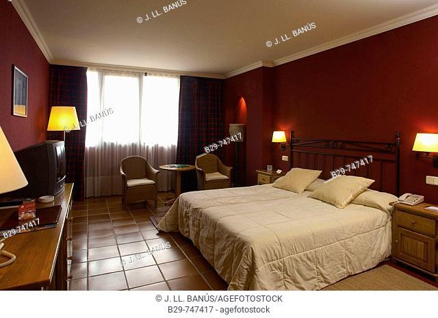 Room in Hotel Golf Peralada. Girona province, Catalonia, Spain