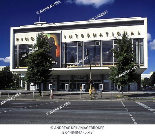 Kino International, premiere cinema of the DEFA company, Friedrichshain district, Berlin, Germany, Europe
