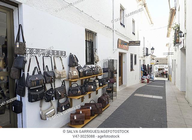 Guadalest craft and souvenir shop
